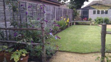 A Victorian cottage garden
