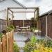 Zones In a Long Narrow Garden