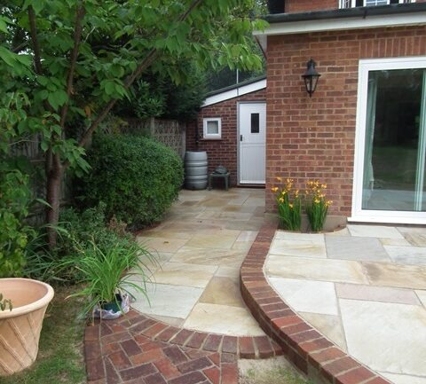 A New Patio for a New Extension